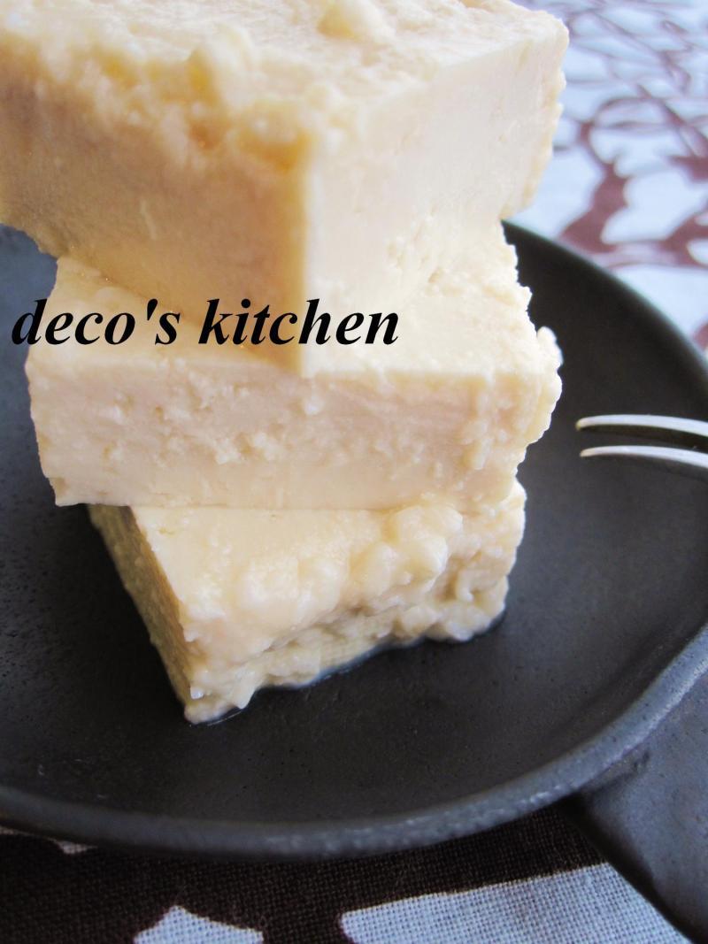 decoの小さな台所。-豆腐の塩麹漬け4