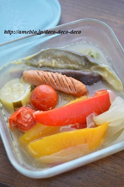 夏野菜ポトフ7