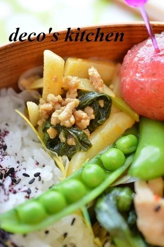 カレーきんぴらのお弁当8