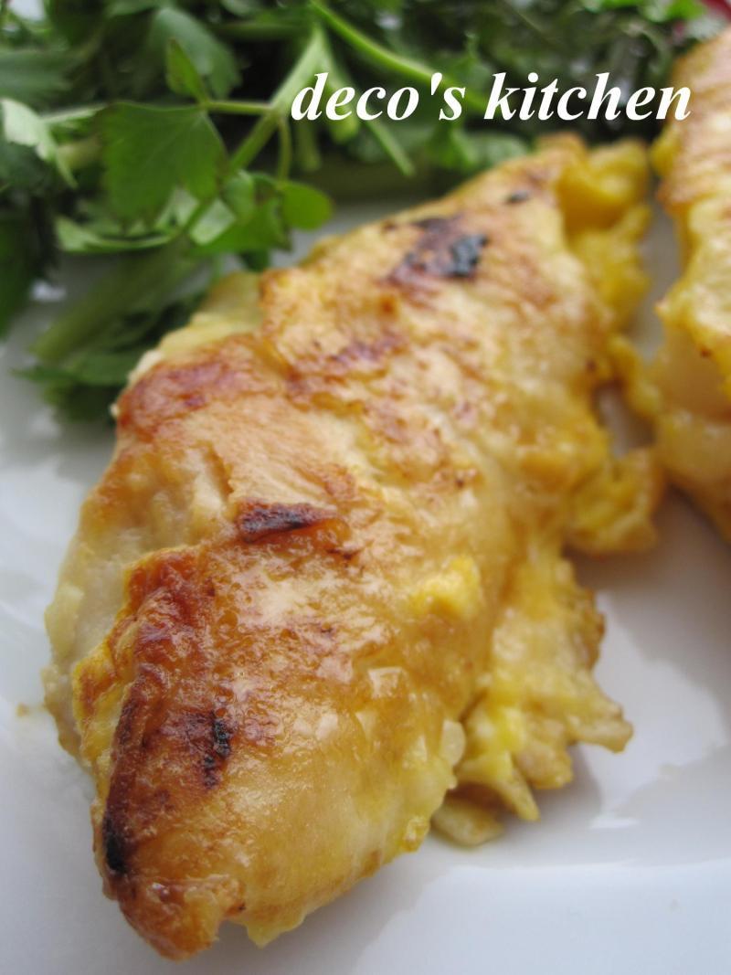 decoの小さな台所。-鶏むね塩麹ピカタ4
