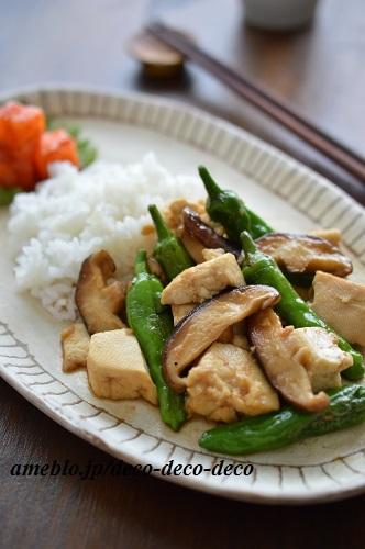 豆腐の甘辛炒め7