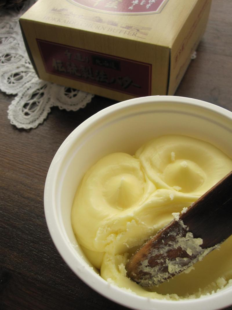 decoの小さな台所。-伝統製法バター1