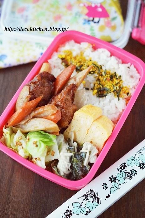 酢豚風弁当1