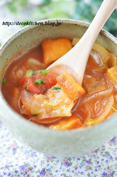 トマトスープ9