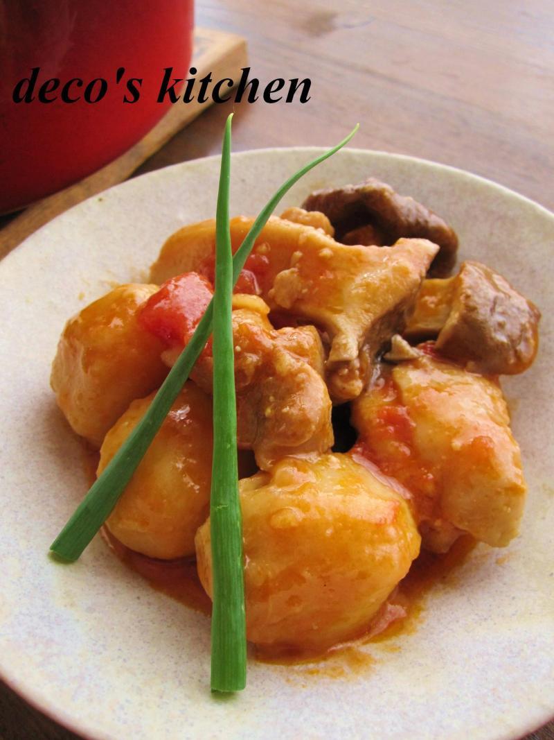 decoの小さな台所。-生姜トマト味噌煮込み弁当6