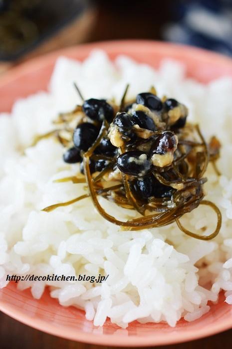 黒豆醤油煮5