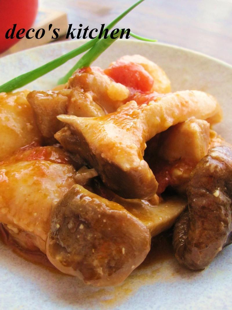 decoの小さな台所。-生姜トマト味噌煮込み弁当8