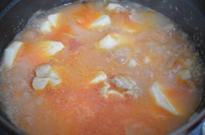トマトシチュー工程3