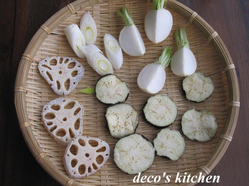 decoの小さな台所。-干し野菜1