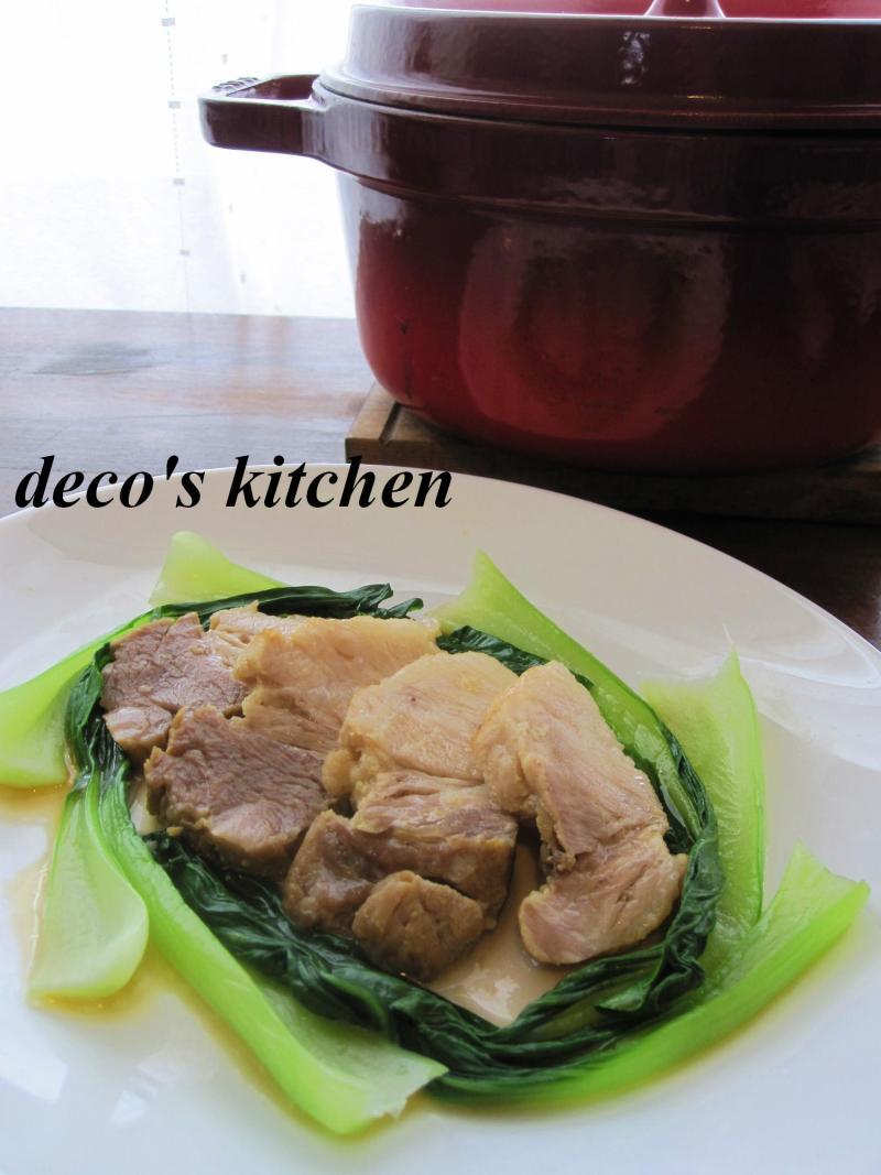 decoの小さな台所。-豚バラのオイスター1