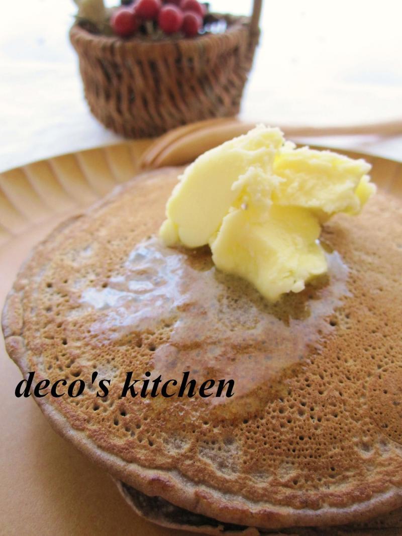 decoの小さな台所。-チョコバナナパンケーキ4