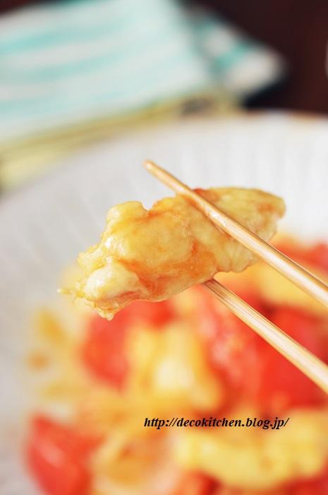 トマト生姜焼き8