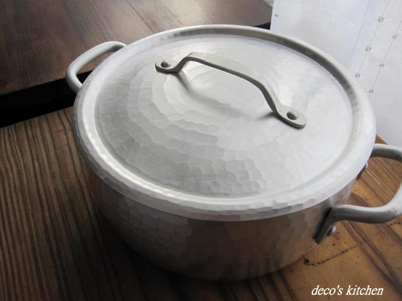decoの小さな台所。-アルミ打ち出し鍋