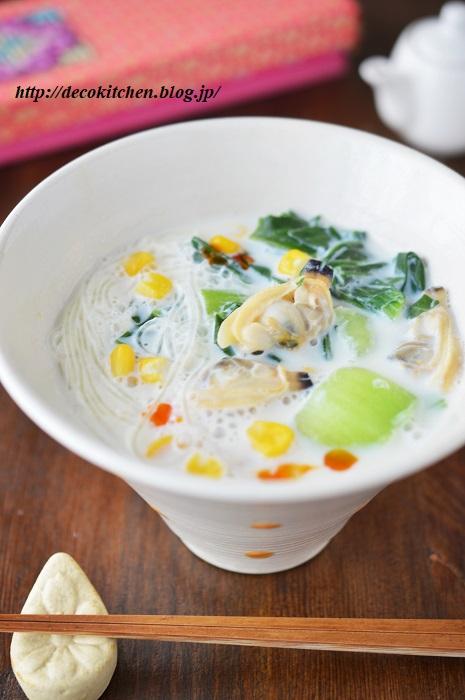 あさりスープ4