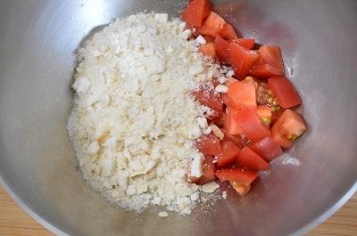 トマトハンバーグ工程2