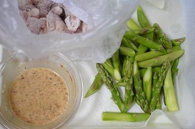 味噌マヨ工程1