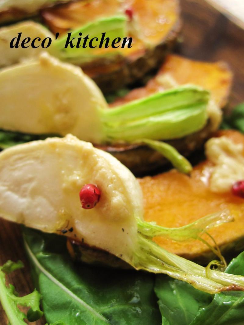 decoの小さな台所。-干し野菜のグリル腐乳ソース3