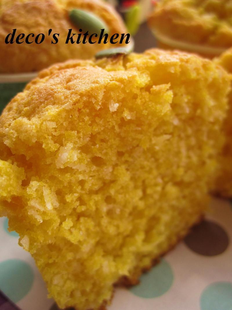 decoの小さな台所。-パンプキンココナッツプチケーキ6