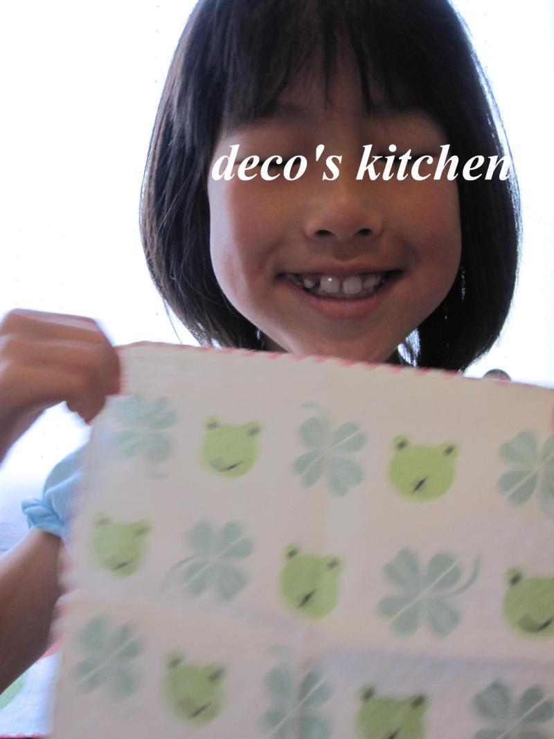 decoの小さな台所。-ゴンママさんからの贈り物11