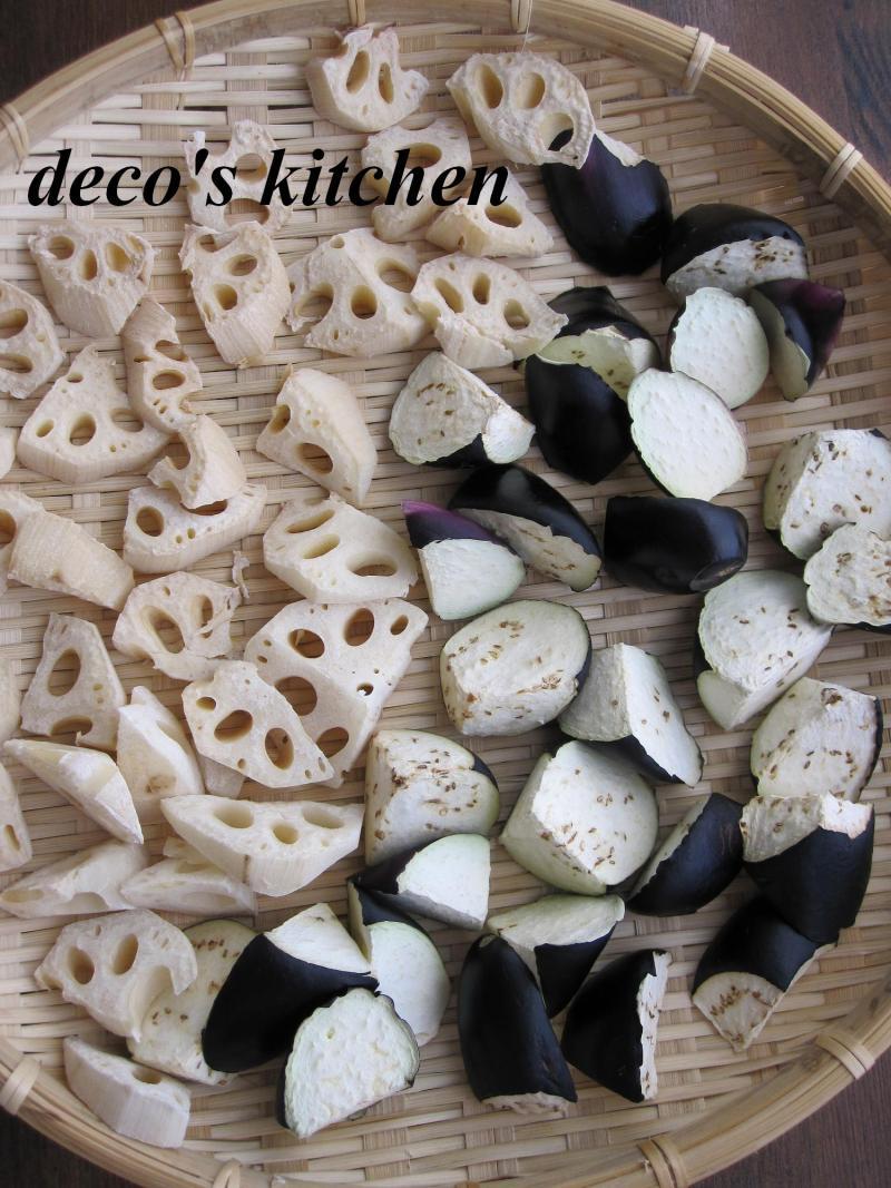 decoの小さな台所。-干し野菜2011-2