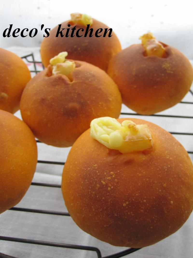 decoの小さな台所。-ひまわりの種とトマトのパン2