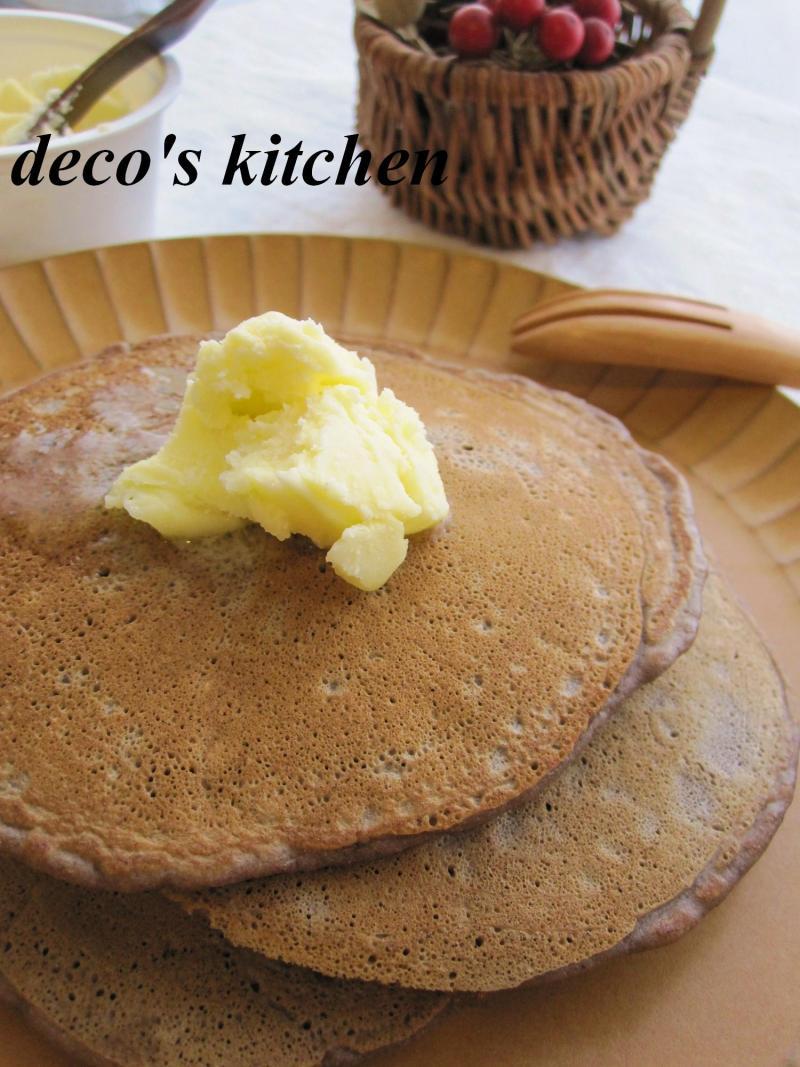 decoの小さな台所。-チョコバナナパンケーキ2