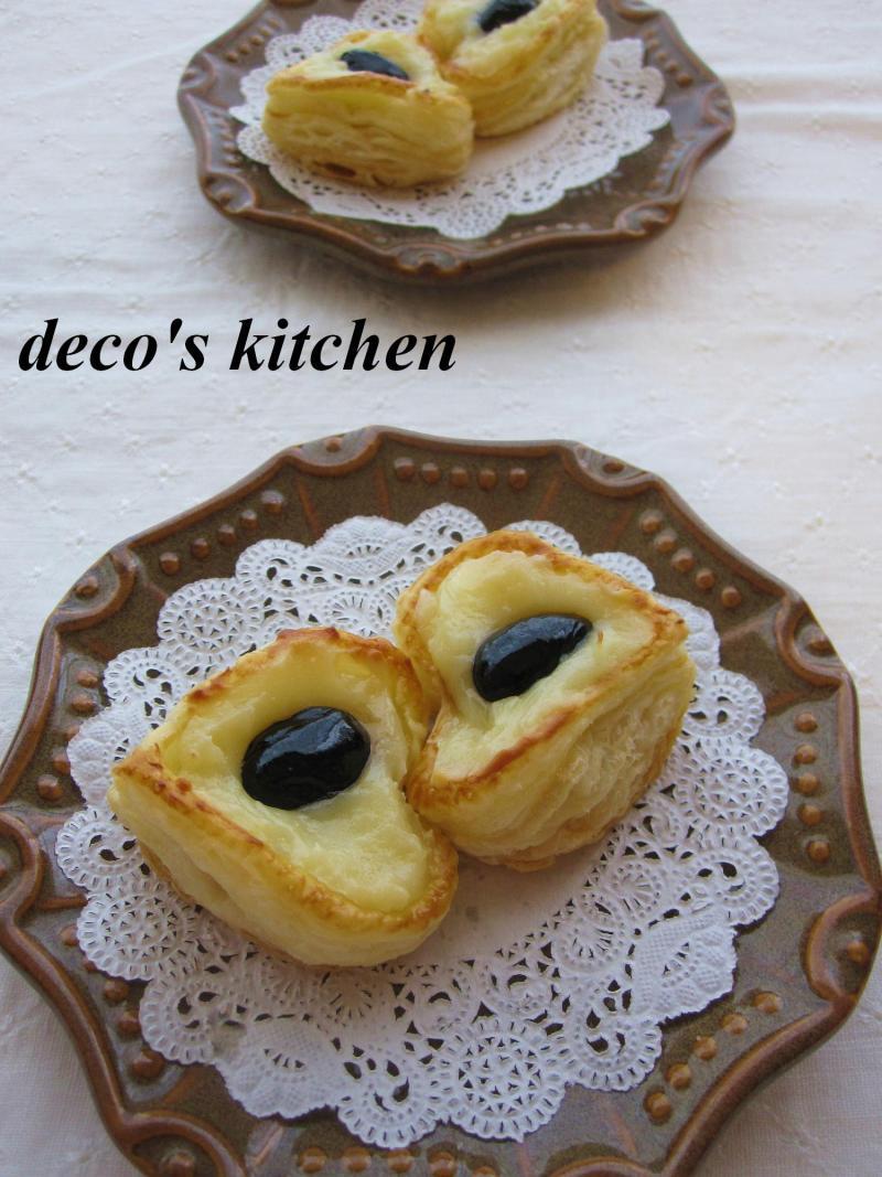 decoの小さな台所。-ジンジャーチーズクリームぷちパイ1