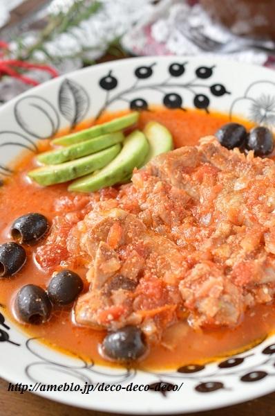 チキンのトマト煮4