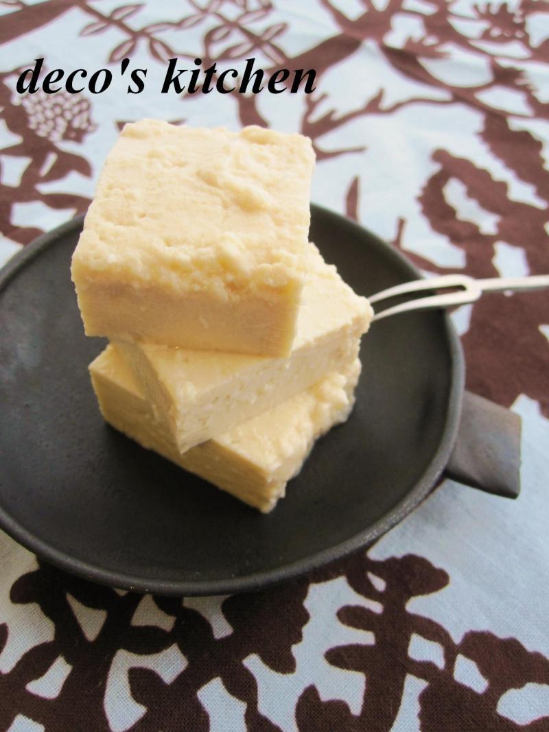 decoの小さな台所。-豆腐の塩麹漬け1