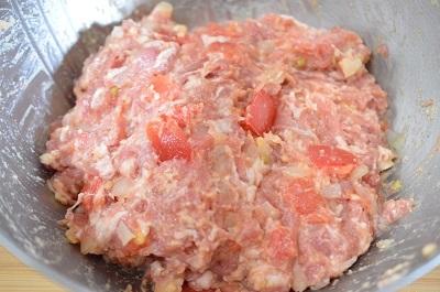 トマトハンバーグ工程6