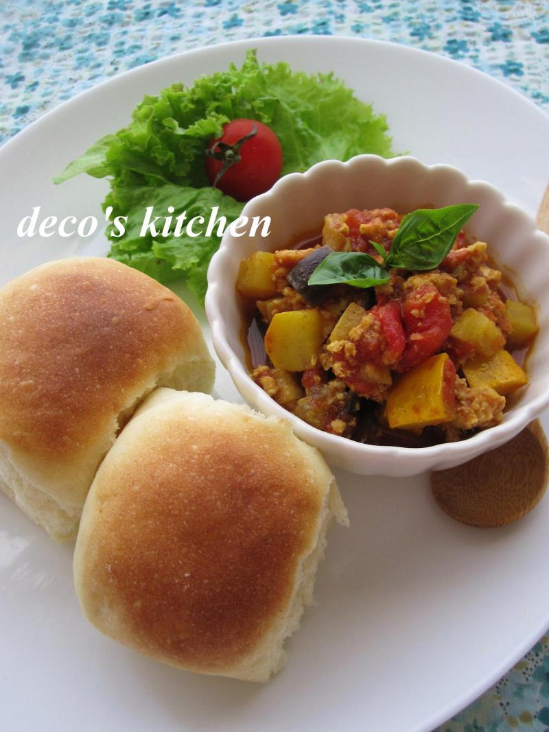 decoの小さな台所。-ルクエパンでカフェ風ランチ3