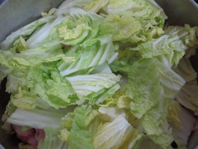 豚肉と大根と白菜の塩麹蒸し煮9