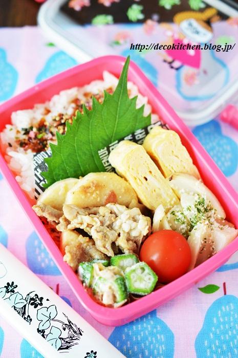 梅味噌炒め弁当3