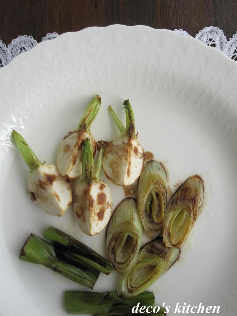 decoの小さな台所。-干し野菜のバターソテー。