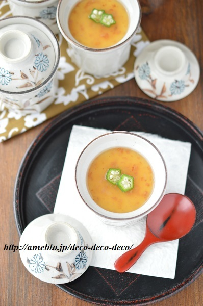 梅あん茶碗蒸し8