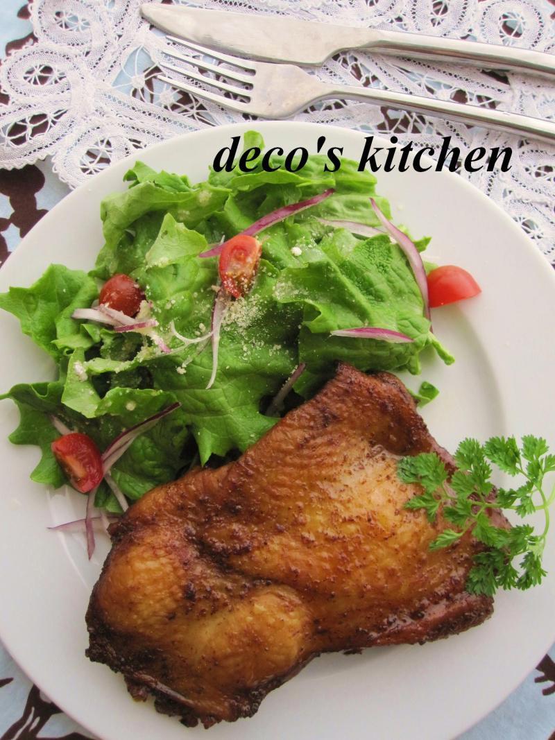 decoの小さな台所。-スパイシーグリルチキン2