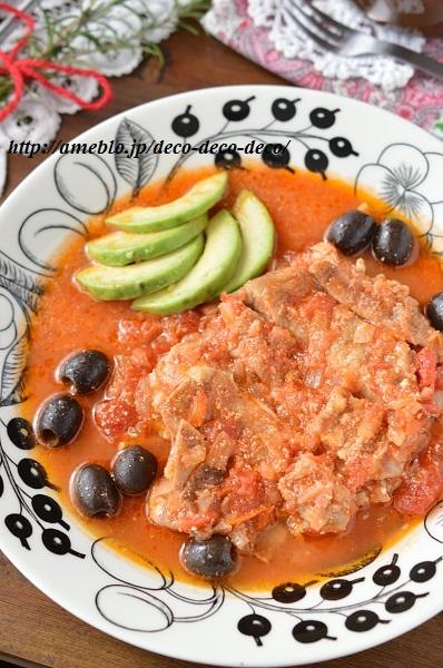チキンのトマト煮3