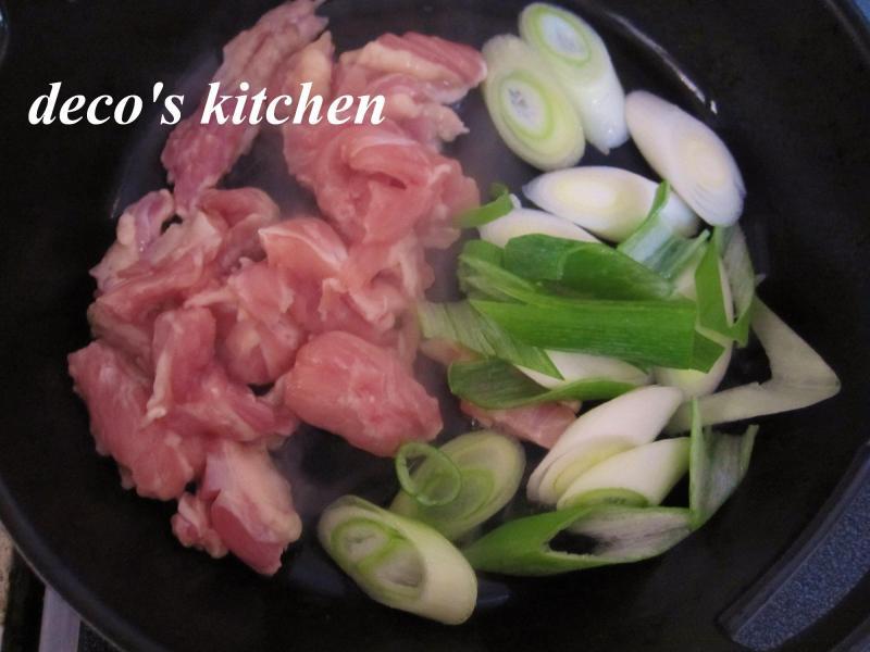 decoの小さな台所。-常春キャベツとせせりの、塩生姜鍋7