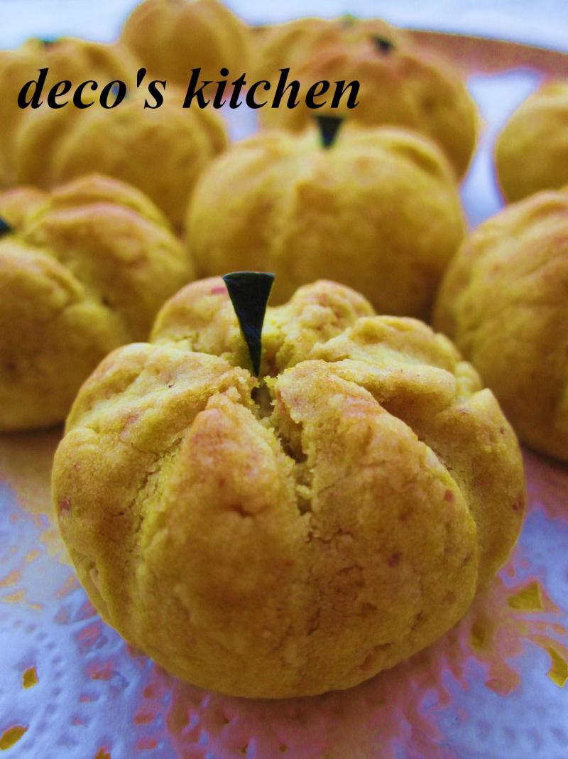 decoの小さな台所。-丸ごとかぼちゃクッキー6