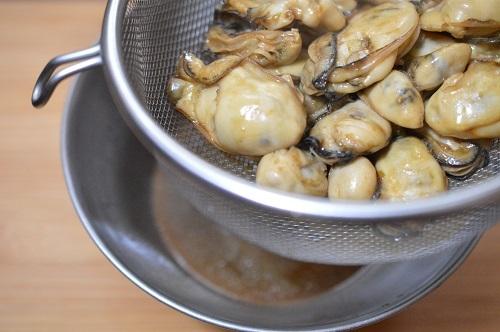 牡蠣ごはん工程4