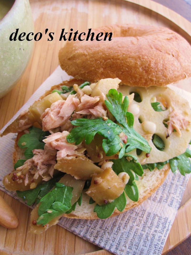 decoの小さな台所。-カリフラワーと里芋のポタージュ2