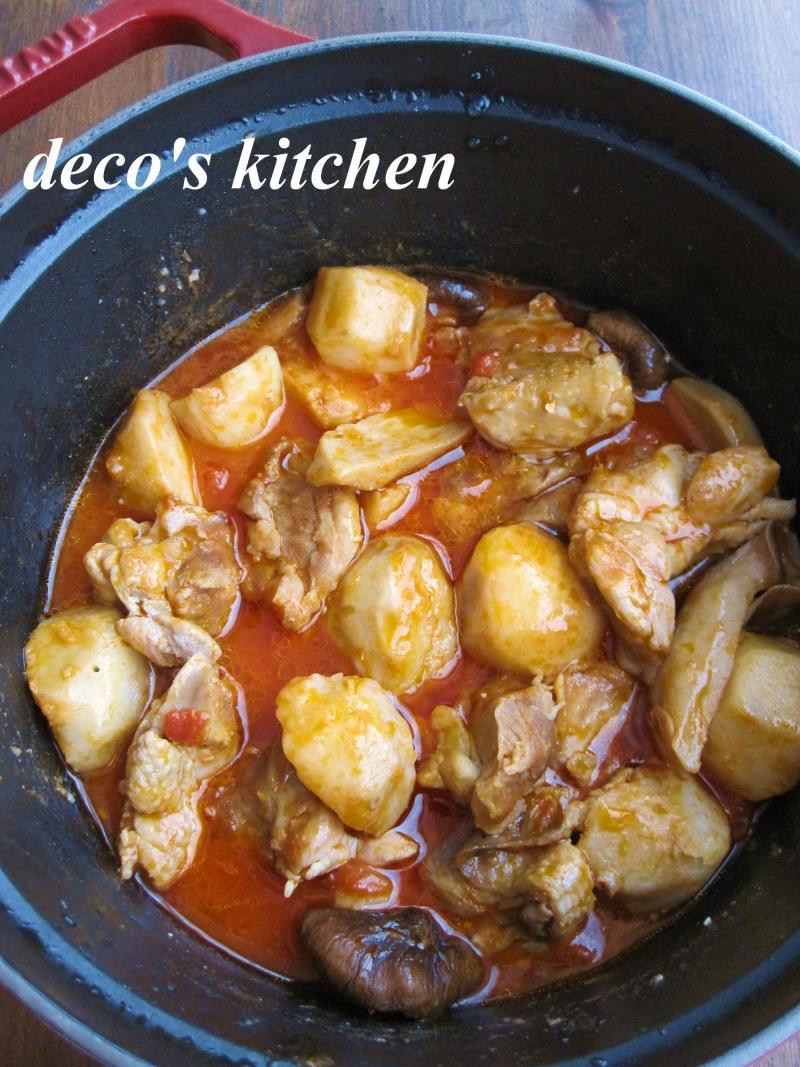 decoの小さな台所。-生姜トマト味噌煮込み弁当5