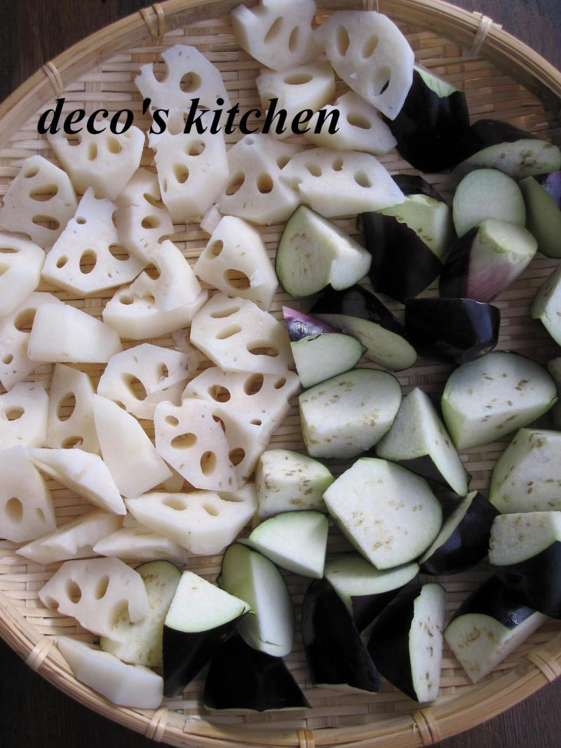 decoの小さな台所。-干し野菜2011-1