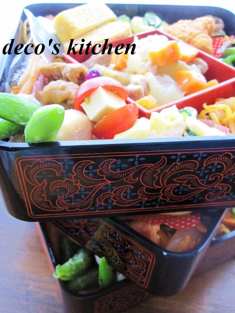 decoの小さな台所。-2013運動会おべんとう2