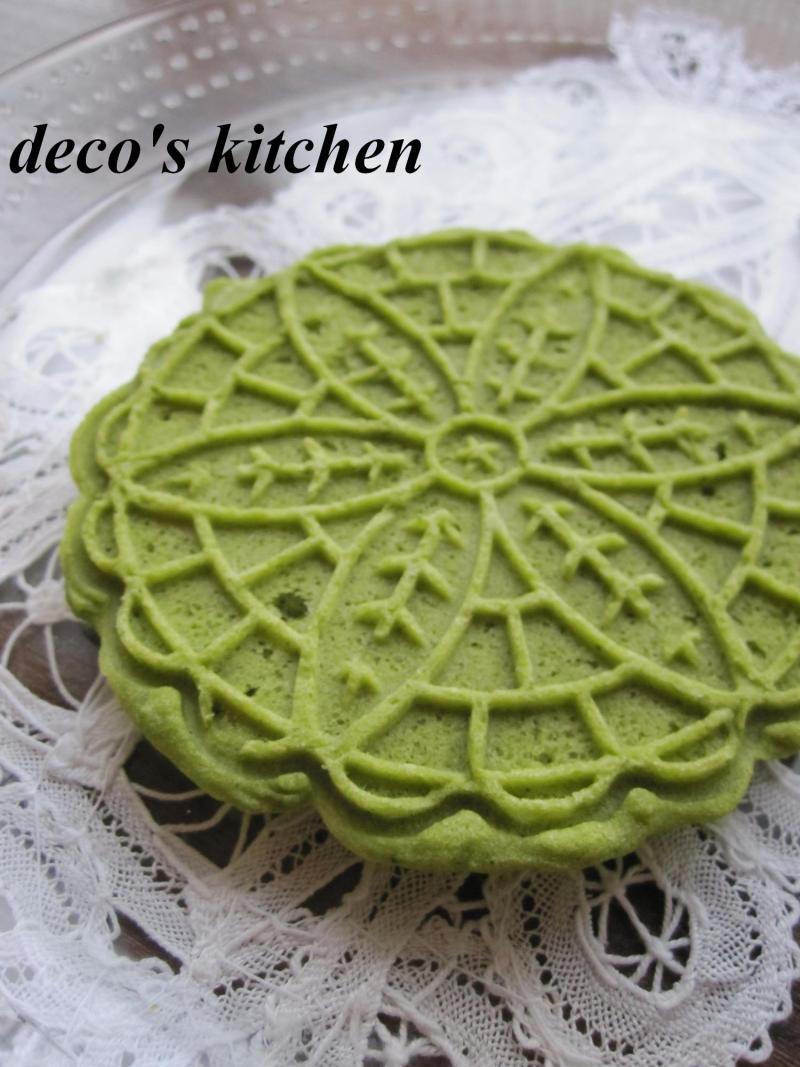 decoの小さな台所。-抹茶ピッツェル4