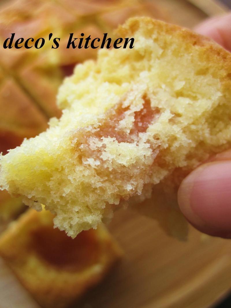 decoの小さな台所。-柿のココナッツケーキ11