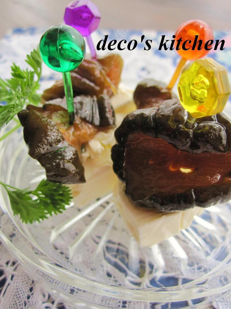 decoの小さな台所。-キューちゃんピンチョス3
