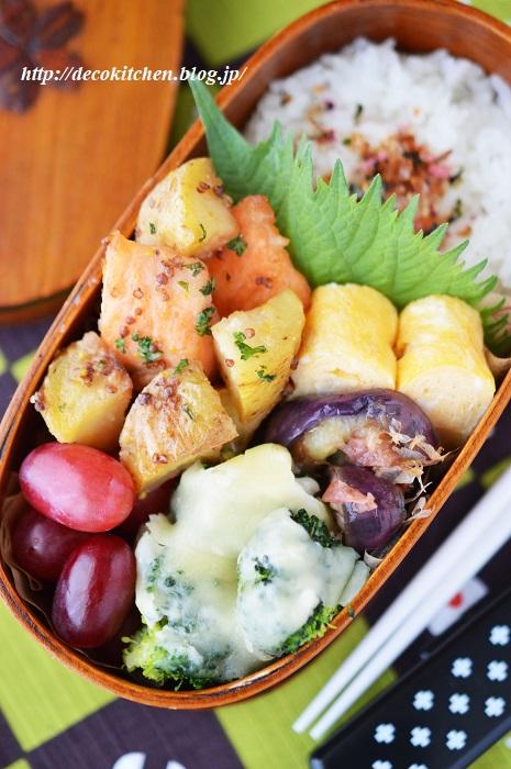 鮭炒め弁当3