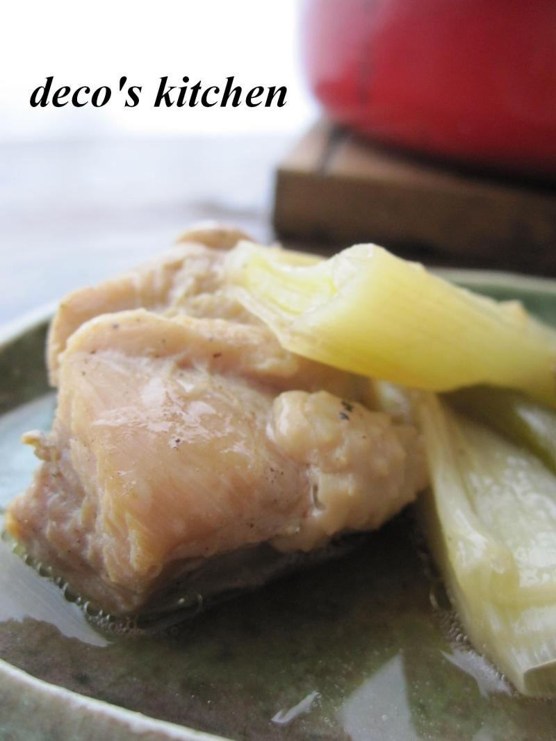 decoの小さな台所。-鶏ももの、黒酢オイスター3