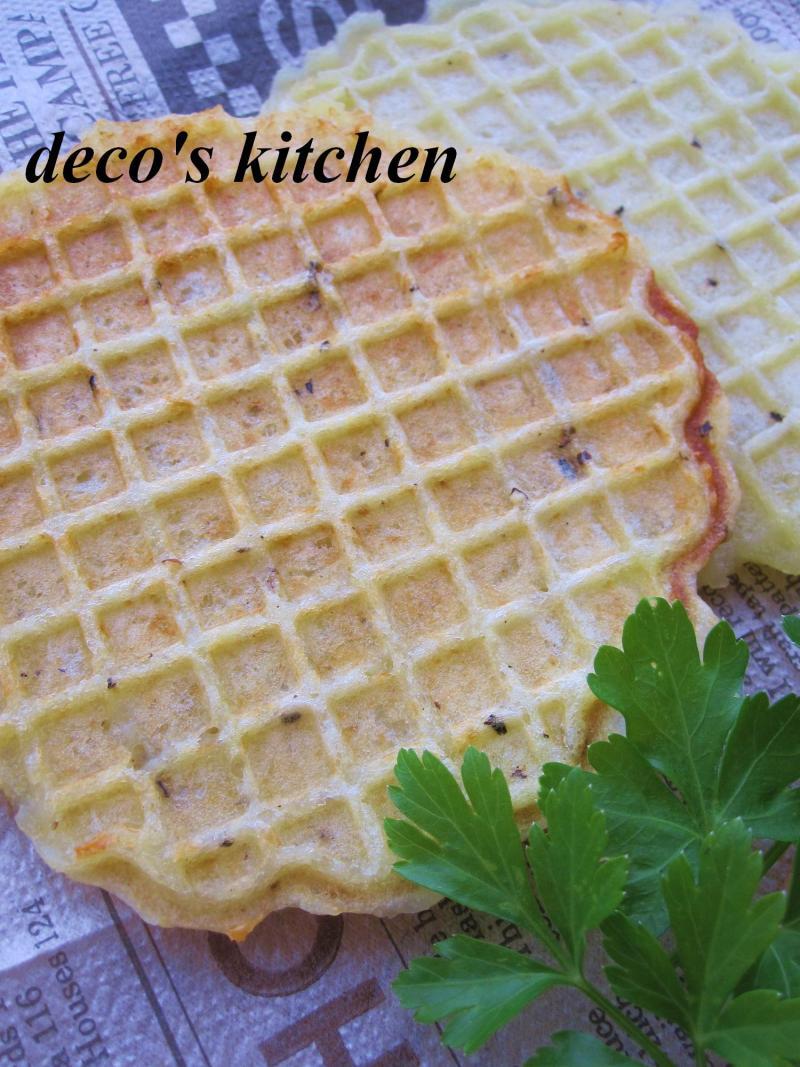 decoの小さな台所。-もっちりポテチーズ4
